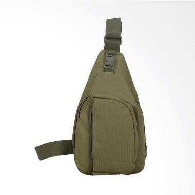 ARMY Tas Selempang Canvas Army Pria Crossbody Bag Sl..