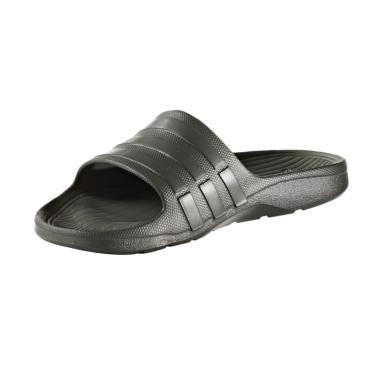 adidas Men Swim Duramo Slide Slip On Sandal - Dark Grey AQ2156