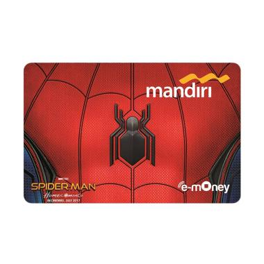 Mandiri E-Money Spiderman Homecoming Edition [Suit]