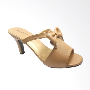 Beauty Shoes BE 1145 Heels Sandal Wanita - Coklat