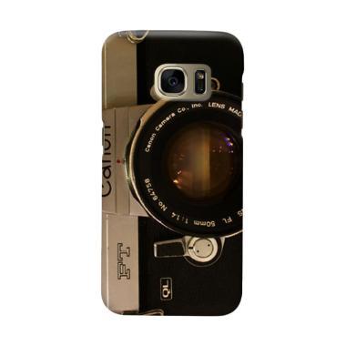 Indocustomcase Camera Canon FT QL C ... msung Galaxy S6 Edge Plus