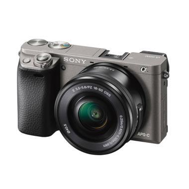 SONY Alpha A6000 Kit 16-50mm Kamera Mirrorless - Grey