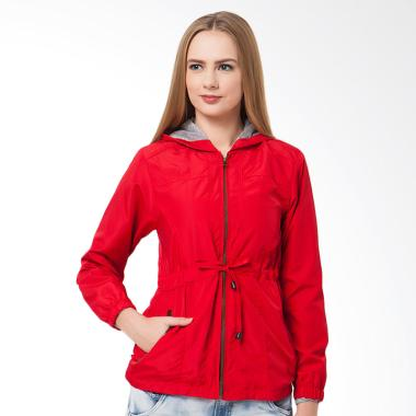 Evio 503 Parka Jacket Wanita - Red