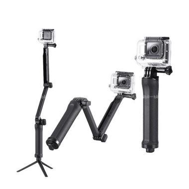 Godric GoPro 3 Way Grip Arm Tripod  ... Xiaomi Yi Camera - strglt