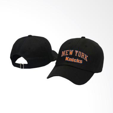 RLUCK8888 Baseball Newyork Knicks Topi - Hitam