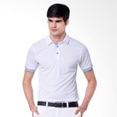 Svingolf Matrix Polo Baju Golf - White