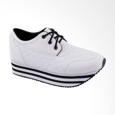 Garucci GDO 7242 Wedges Shoes - White