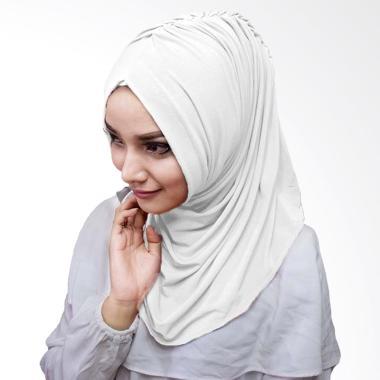 Milyarda Hijab Medirala Jilbab Instan - Putih