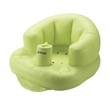Richell Airy Baby Chair Tempat Mandi Bayi - Hijau Muda