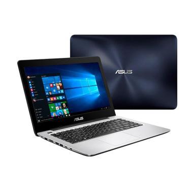 ASUS A456UR-GA091D Notebook - Dark  ... Inch/Dos/Garansi 2 Tahun]