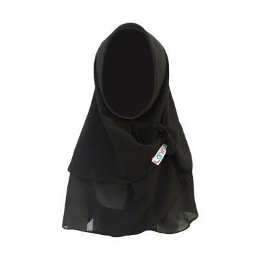 Laniea Khimar Thalita Jilbab Anak - Black
