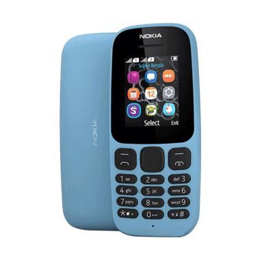 Nokia 105 (2017) (Blue, 4 MB)