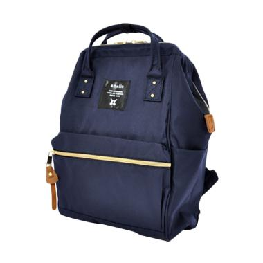 Anello Mouthpiece Rucksack AT-B0193A Polyester Tas Ransel Backpack - Navy
