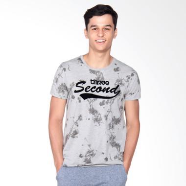 3SECOND 3008 T-Shirt - Grey 132081712