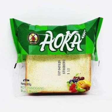AOKA Susu Vanila Roti Panggang [Singles 65 g/ 1 KARTON] DUS