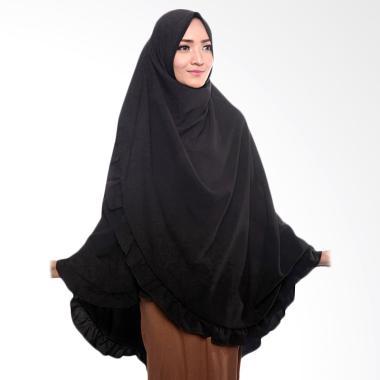 Cotton Bee Khimar Zarina Jilbab Instant - Black