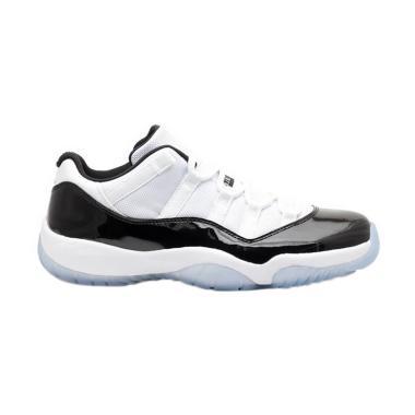 NIKE Men Air Jordan 11 Low Concord  ...  White Black [528895-153]