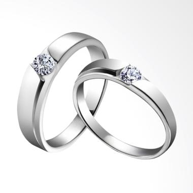 PRINCESS Hot Item 03 Palladium Cincin Couple