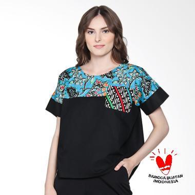 Batik Segoro Mas SM 078 #5 Rane T-Shirt Batik Wanita