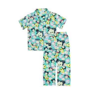 Papeterie PJ012 Baju Tidur Setelan Piyama Anak Perempuan