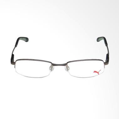 PUMA Half Rim Frame Kacamata - Grey 15374 - 51 7fbc6eb29e