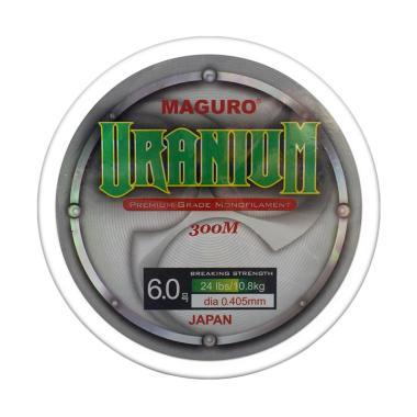 Maguro Uranium Line Monofilament Senar Pancing [0.40 mm]