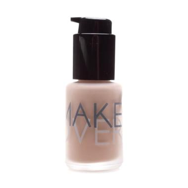 Make OverUultra Cover Liquid Matt Foundation - 01 Ochre