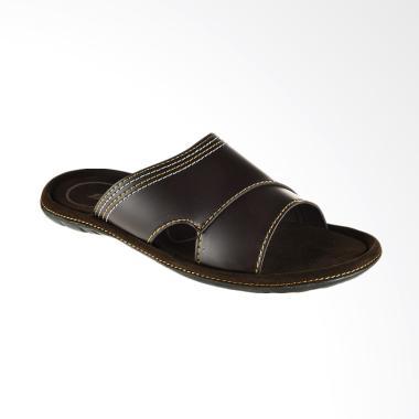 Bata Ramse Men Sandal Pria - Brown [8714145]