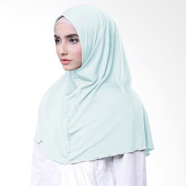 Najwa Hijab Kaos Katun TC Premium Jilbab Instan - Mint