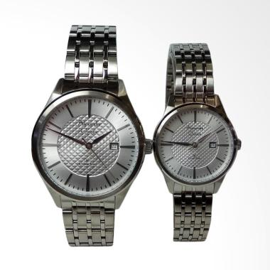 Alexandre Christie Classic Silver S ... ngan Couple [AC8453MD/LD]