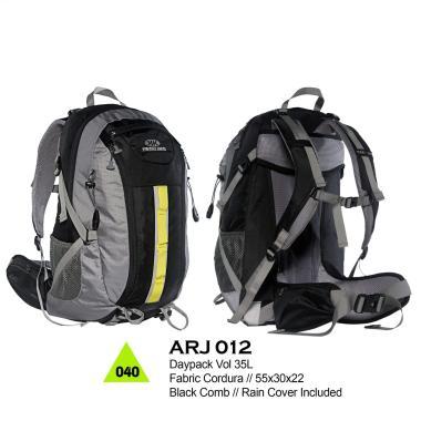 Trekking Carrier Tas Gunung - Black Combi [35 L/ARJ012]