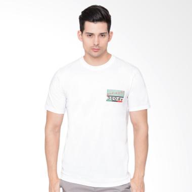 harga DEV.LTD Radio White T-Shirt Pria [01.097] Blibli.com