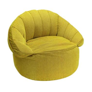 Bottom Dock Croissant Rover Sofa Beds - Yellow