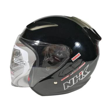 NHK R6 Helm Half Face Black