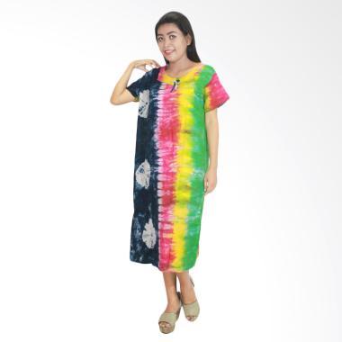 Batik Alhadi DPT001-54E Daster Baju Tidur Lengan Pendek