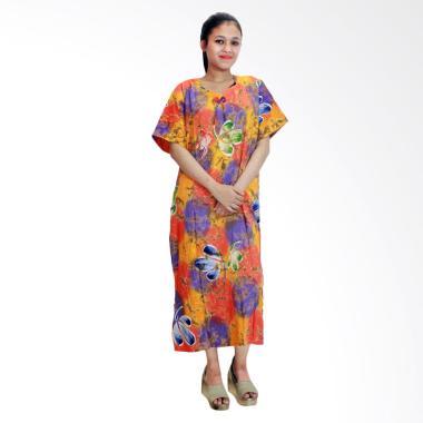 Batik Alhadi RDT001-11C Daster Bati ...  Baju Tidur Lengan Pendek