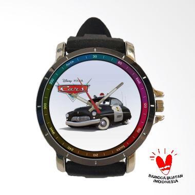 Fika Cars Keren Rubber Custom Jam Tangan Unisex - Black [Art 13]