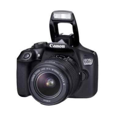 Canon EOS 1300D with Lensa 18-55 III WiFi Kamera DSLR