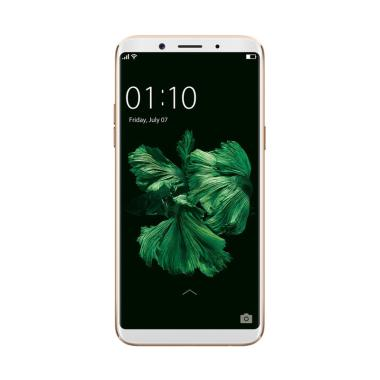 Oppo F5 Smartphone - Gold [32GB/4GB] + Free Tongsis Cable