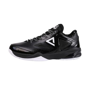 PEAK Tony Parker 9 III Low Basketball Shoes Sepatu Basket Pria - Black