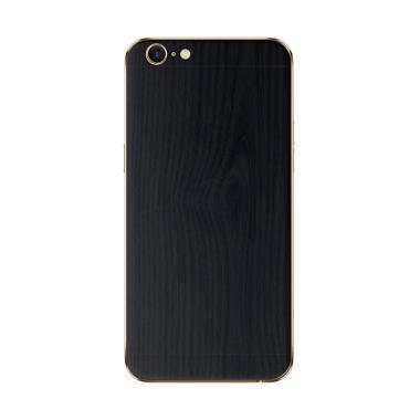 9Skin Premium Skin Protector for Oppo A39 - Black Wood [3M]
