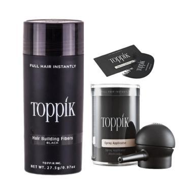 Toppik Hair Building Fibers Paket P ... or dan Hairline Optimizer