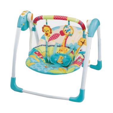 Mastela 6579 Deluxe Portable Swing Ayunan Bayi - Blue