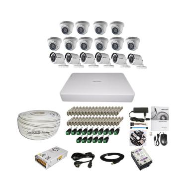 Hikvision THD 7116 16CH Paket Lengk ... + 6 Out/ 2MP/ 2TB/ 100 m]