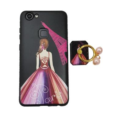 OEM Marcell Sexy Girl Paris Ring Mutiara Casing for Vivo V7
