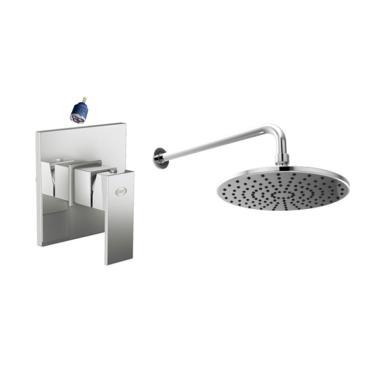 AER Bundling Kran Tanam Panas Dingin SSV 01 + Wall Shower WS-16