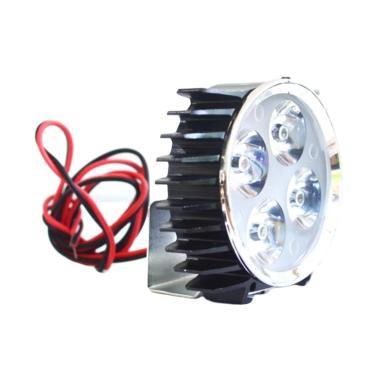 Raja Motor LED 4 Ramping Jepit Lamp ... 008-CoverHitamNyalaPutih]