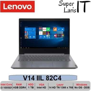 harga Laptop Lenovo V14 IIL 82C4 i3 1005G1|4GB|1TB|14