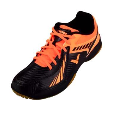 Victor Sepatu Badminton - Black Orange [AS 33 CO]
