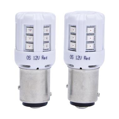 OSRAM RETROFIT 1457 RED (P21/5W) - LAMPU REM PUTER LED MOBIL